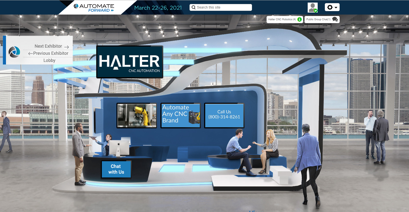 Automate Forward Virtual Trade Show & Conference