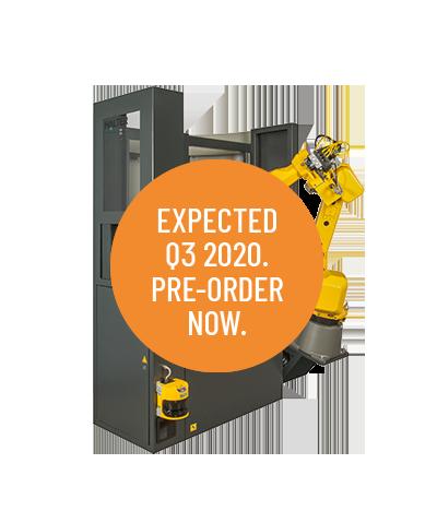 MillStacker Compact 12 - Loading robotic solution